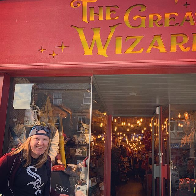 Big news. Zoe's actually going to HOGWARTS and not St. Andrews.