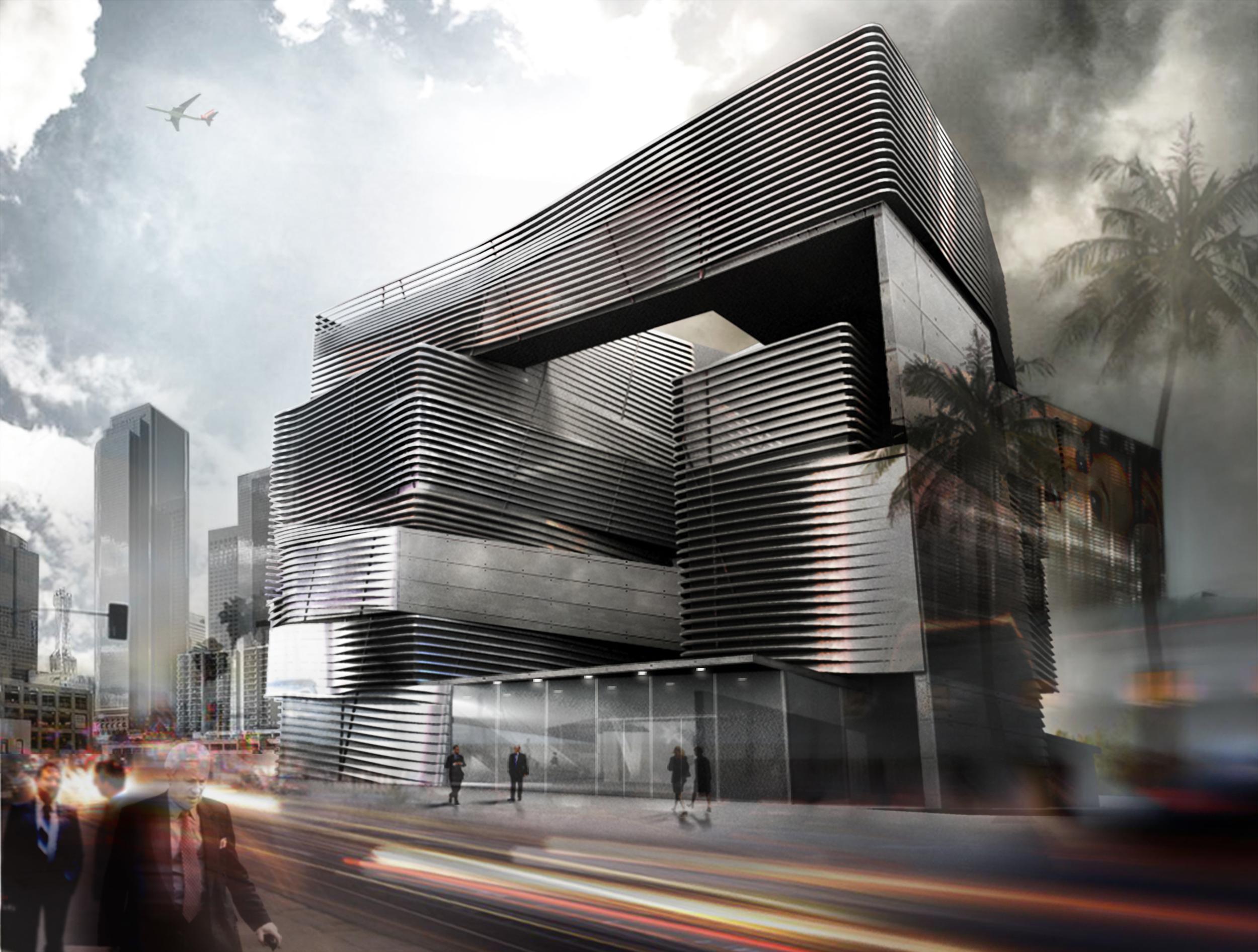 Eli Broad Art Museum // Design Studio