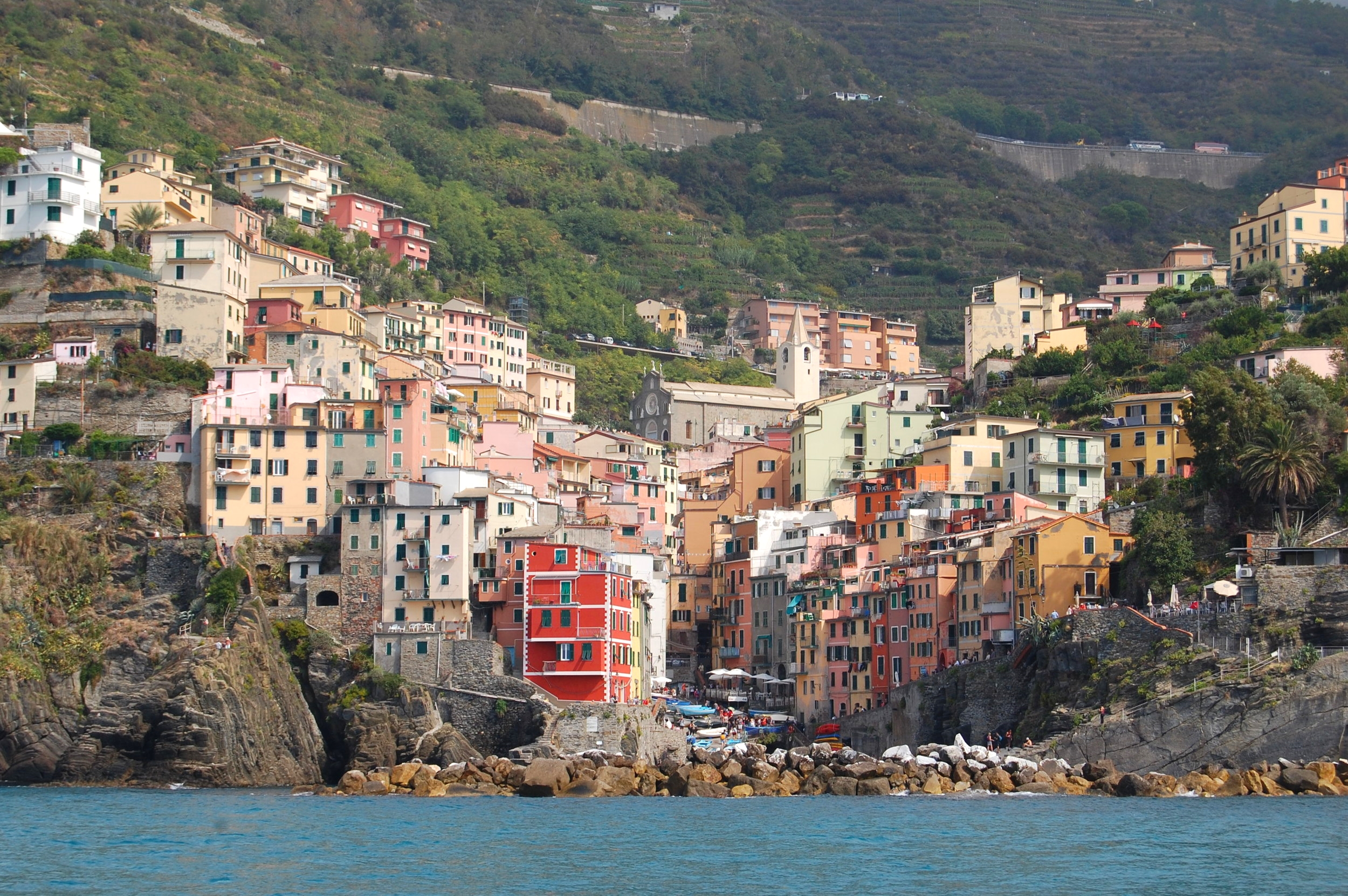 We finally arrived in Cinque Terre!!