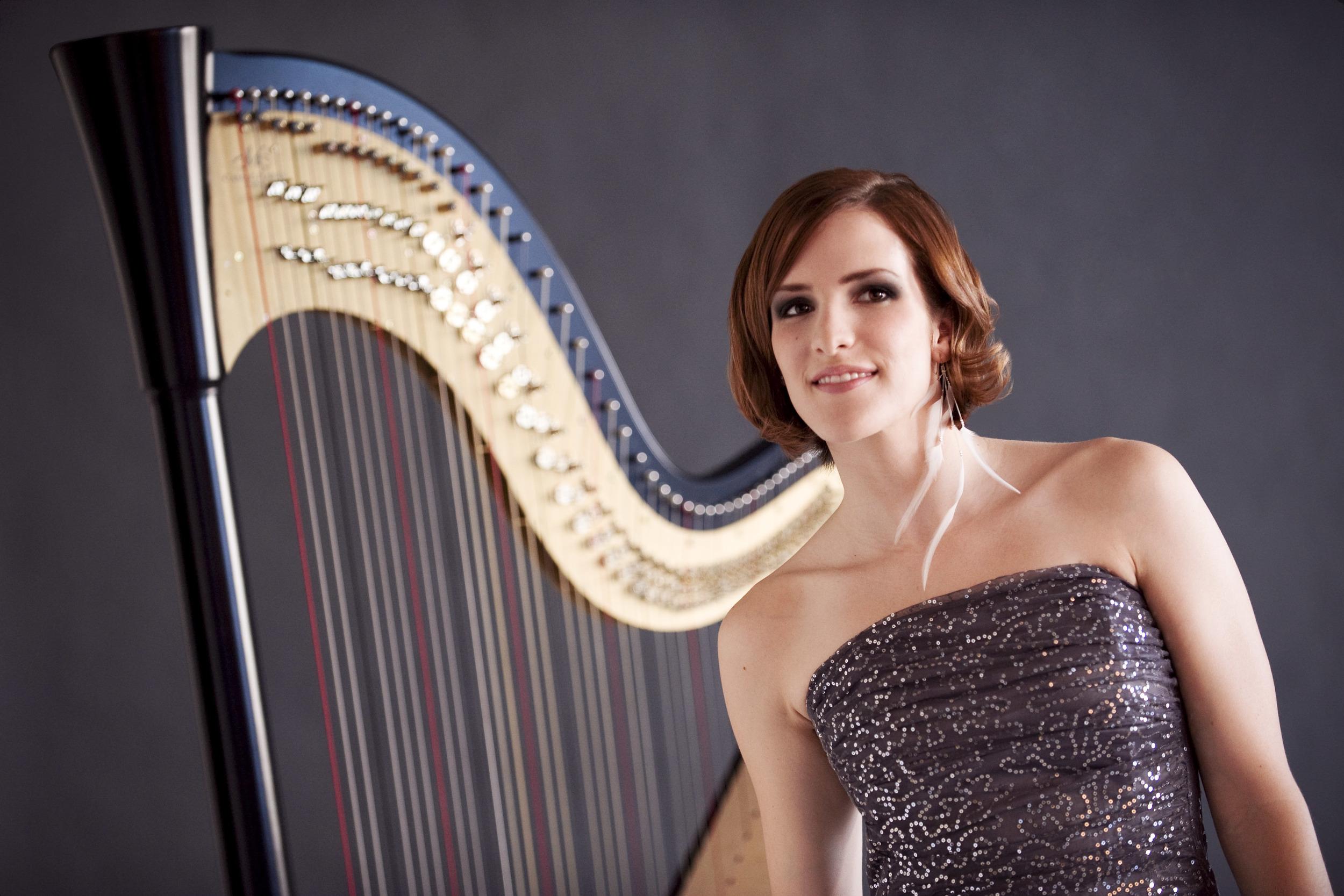 Valérie Milot, Harpiste
