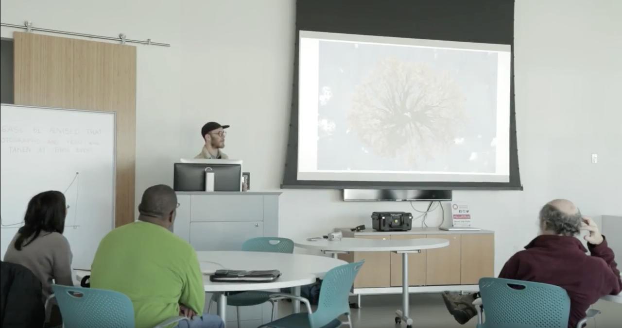 Zach Lanoue Artist Talk at Harvard 2016