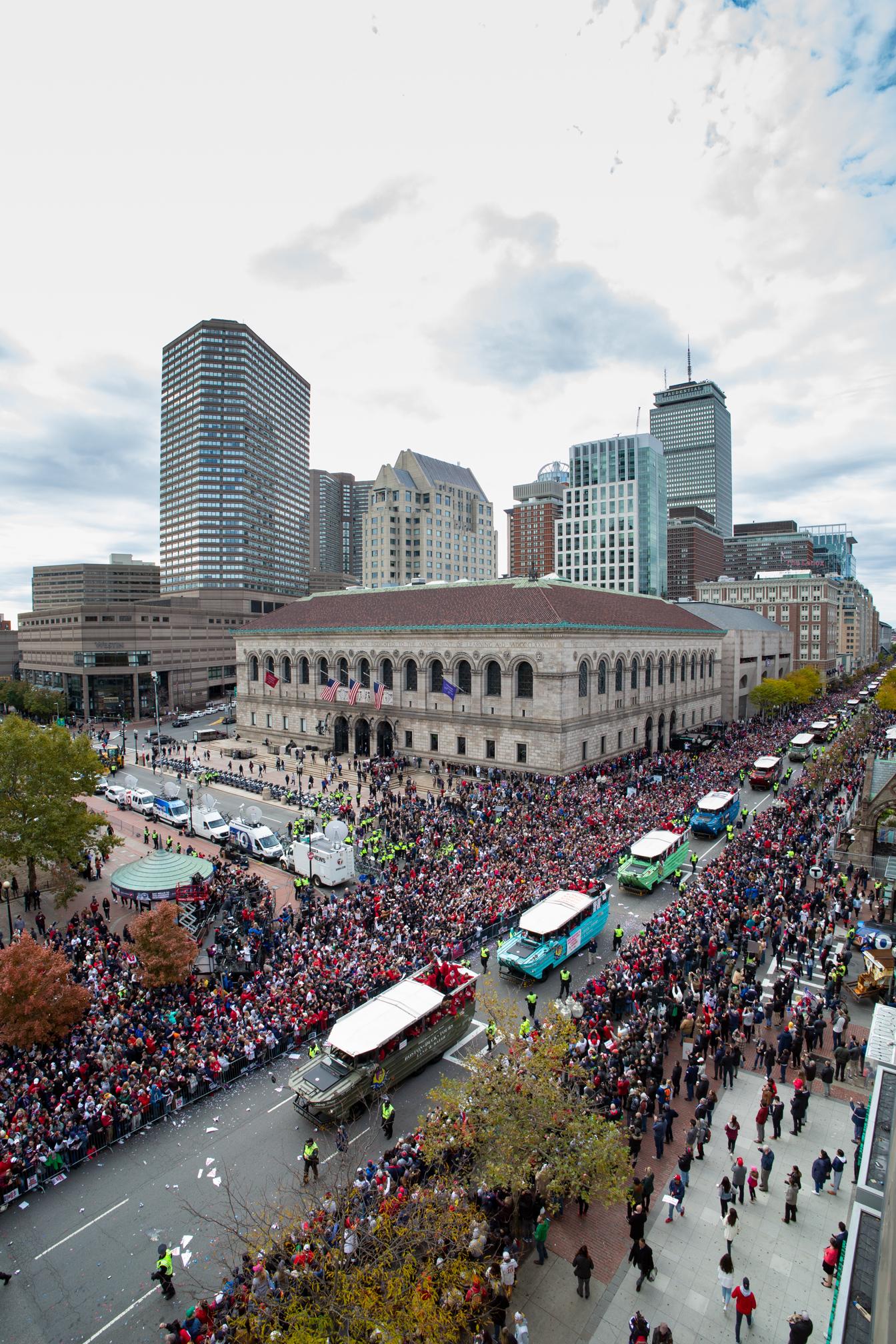 Boston Red Sox Parade 2018