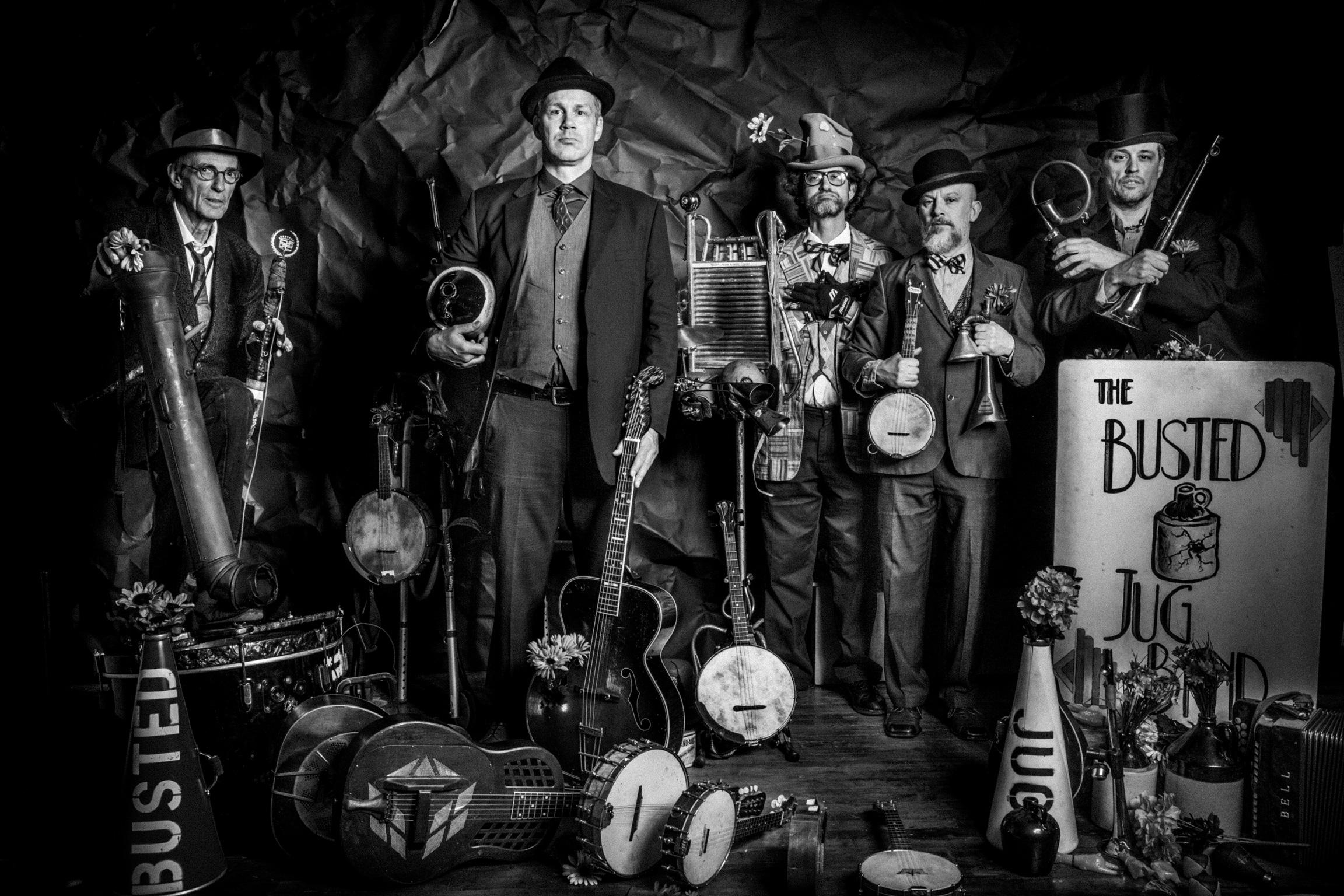 The Busted Jug Band 2018.