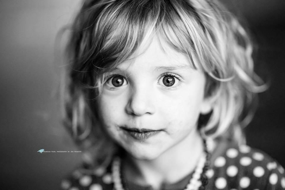 Willa Quinn: Age 3 1/2 Pre-haircut