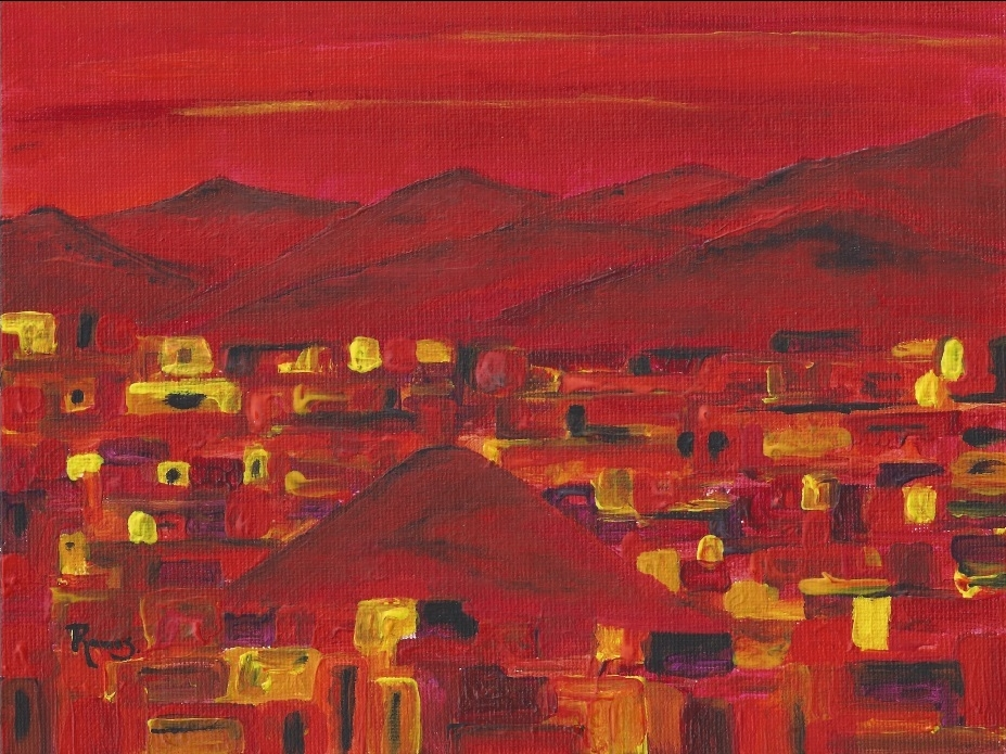 Leonardo Ramos, Ecuador. Red Hill Lights, 2013.