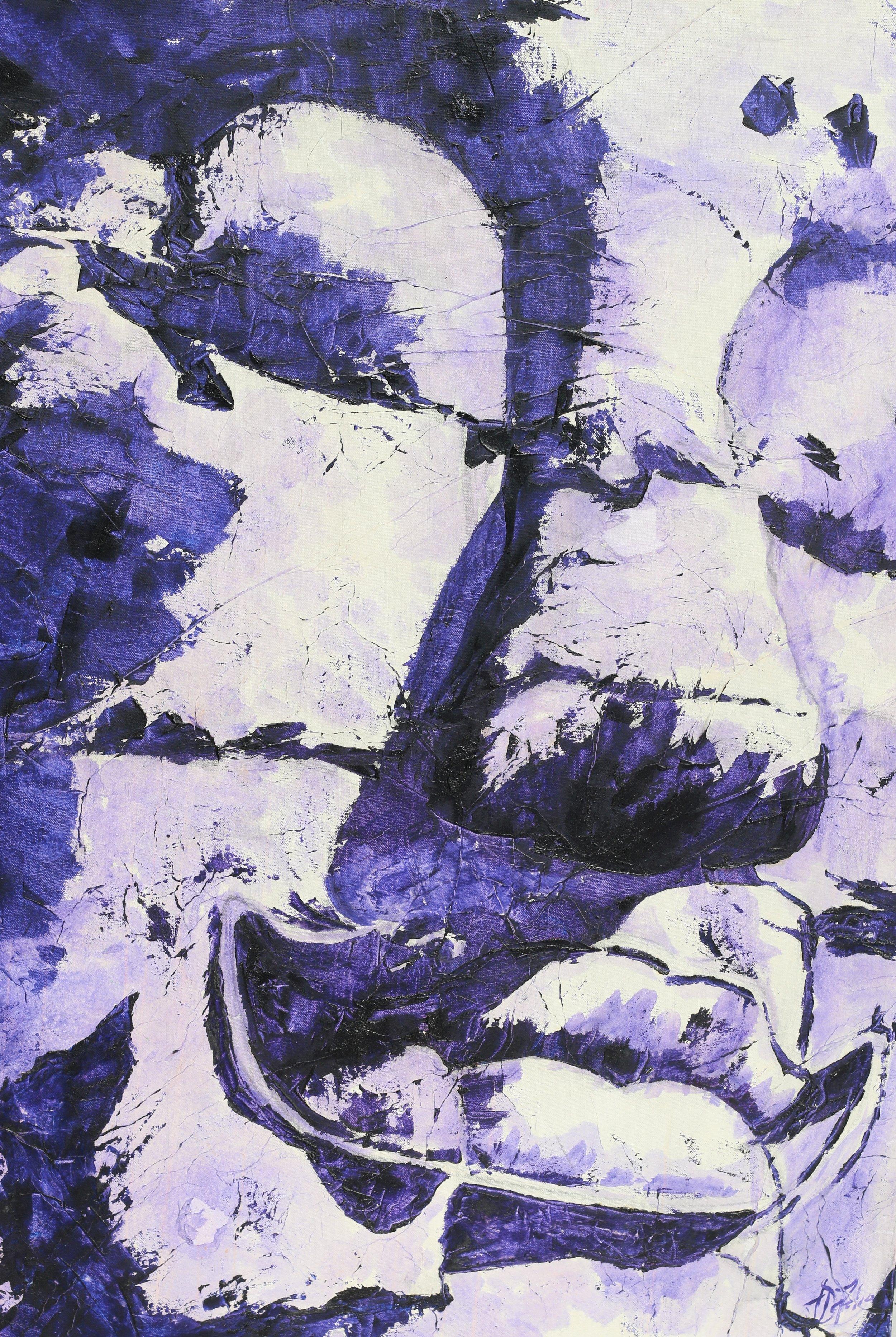 Jill DeFelice: Violet Buddha