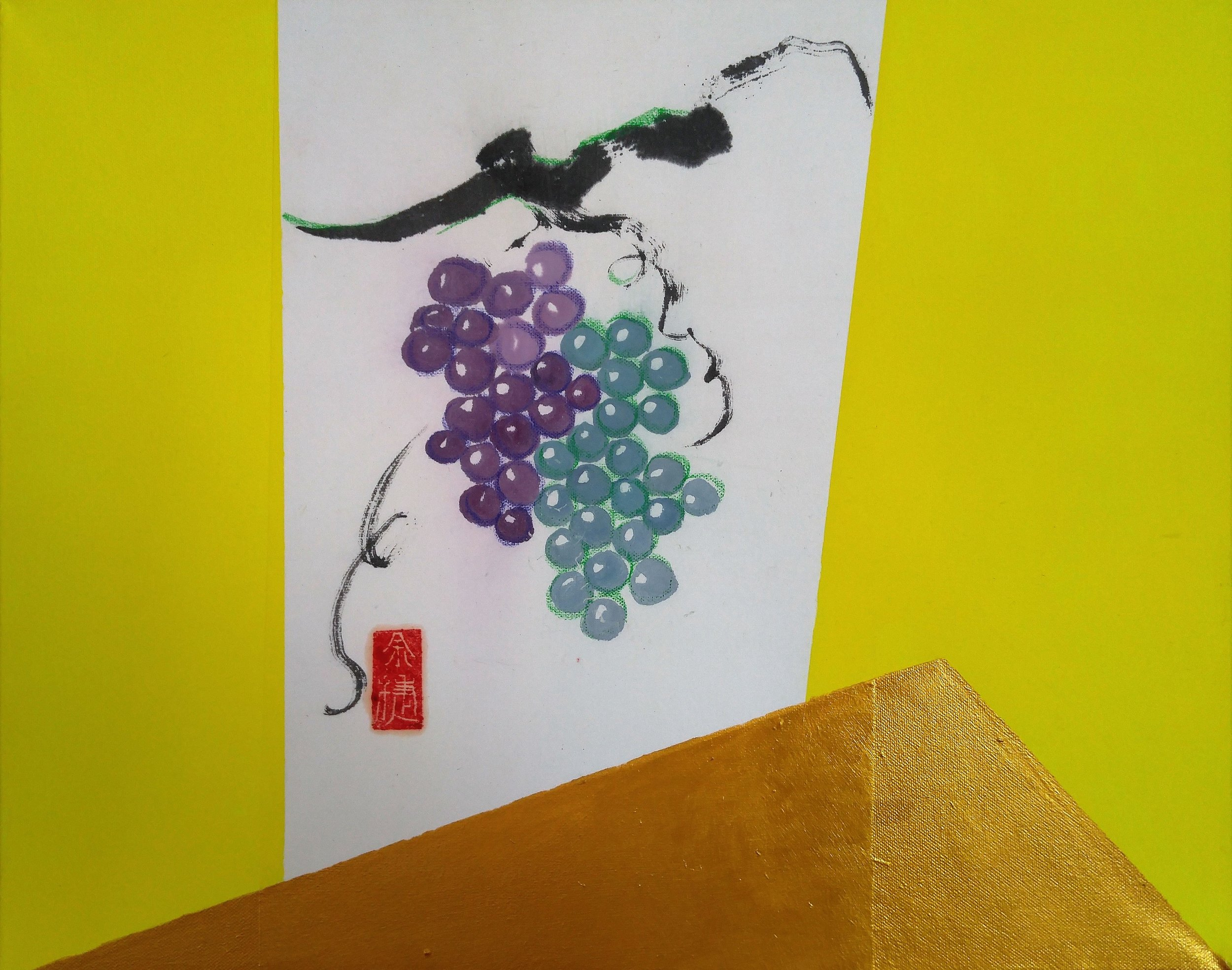 Vineyard, 16 x 20 x 1.5 inches