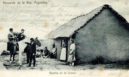 Aveyron gauchos in 1904