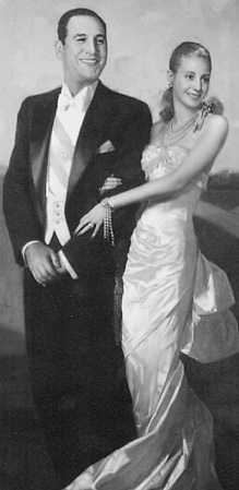 The couple Perón