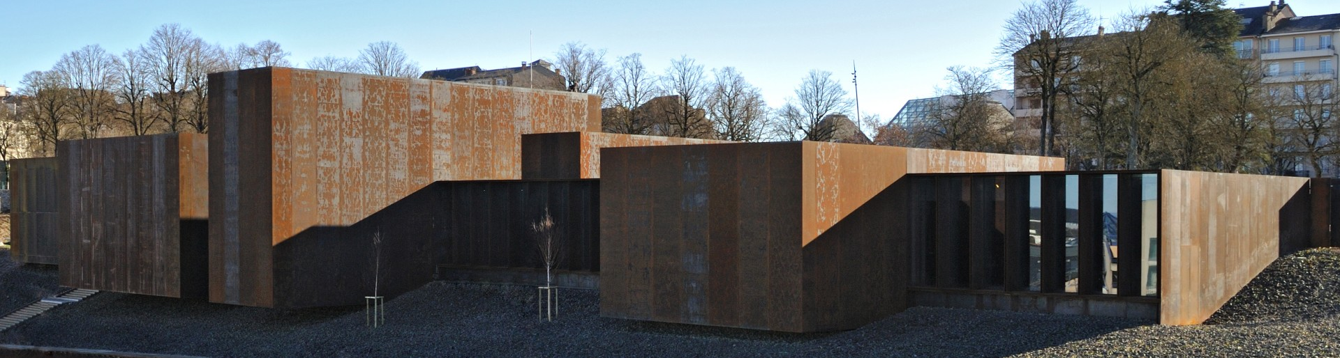 Soulages Museum in Rodez