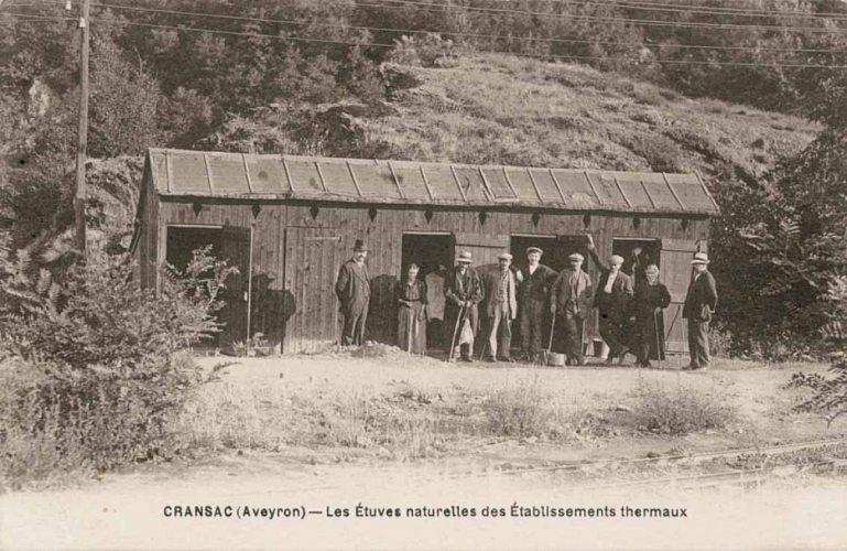 cransac, Only the steam rooms were still in existence at the start of the 20th century.
