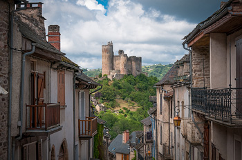 Najac and its château