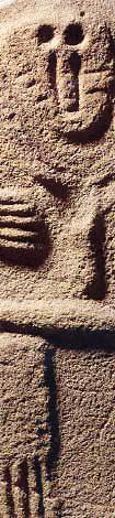 Statue Menhir Detail