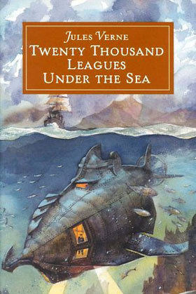 Jules Verne book, Twenty Thousand Leagues Under The Sea