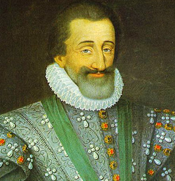 Henri IV, King of France, born Henri de Bourbon