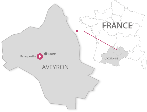 Aveyron In Occitanie and France