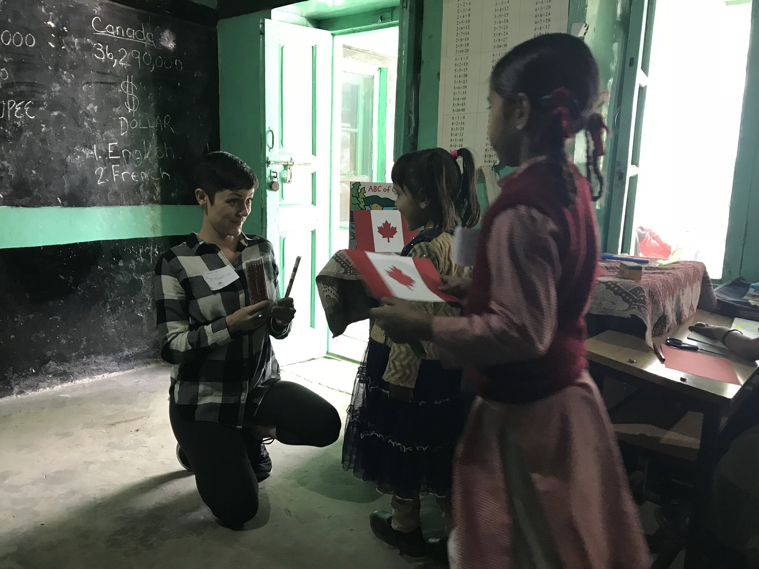 """It is so valuable to have native English speakers teach and inspire our students. Volunteers rarely come our way, and our staff never get a break! We are truly grateful for Let Live Travel.""   -Manali Government Primary School, 2018"