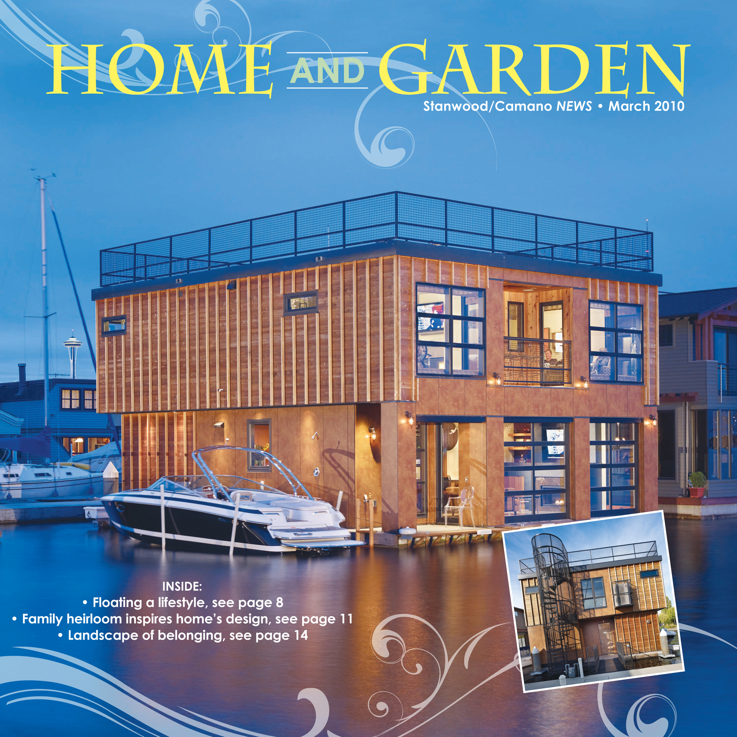 Home & Garden Special Section Cover