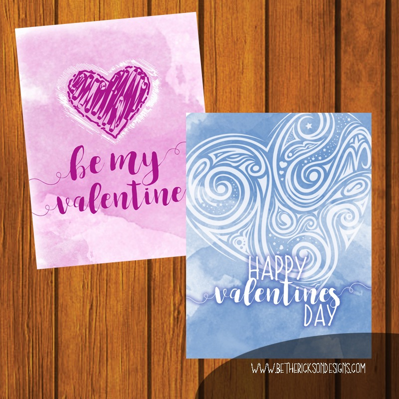 Do It Yourself Print At Home Valentine's