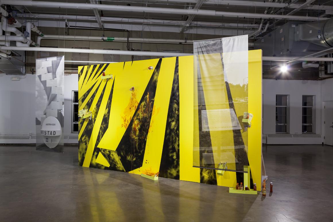 Artist: Cristóbal Gracia Residency : 2015 Biennial Ambassadors Exhibition: Vis-à-Vis | July 14 - July 26, 2015 Location: McNichols Civic Center | Denver, Colorado