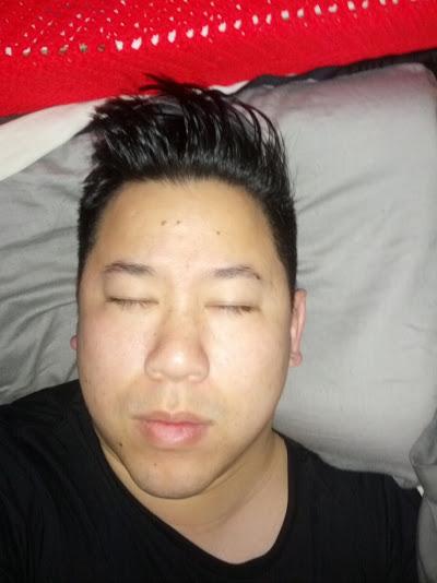 """The """"haha, bae caught me sleeping"""""""