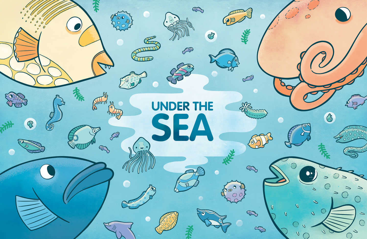Under the Sea, a board game for Teacher Created Materials.