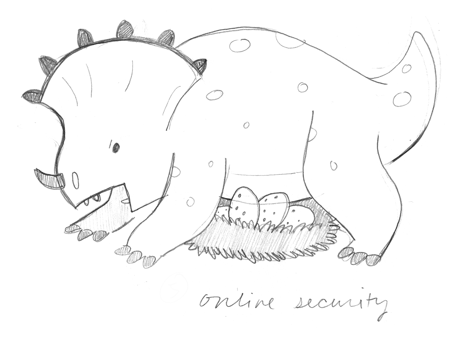 Online Security Sketch