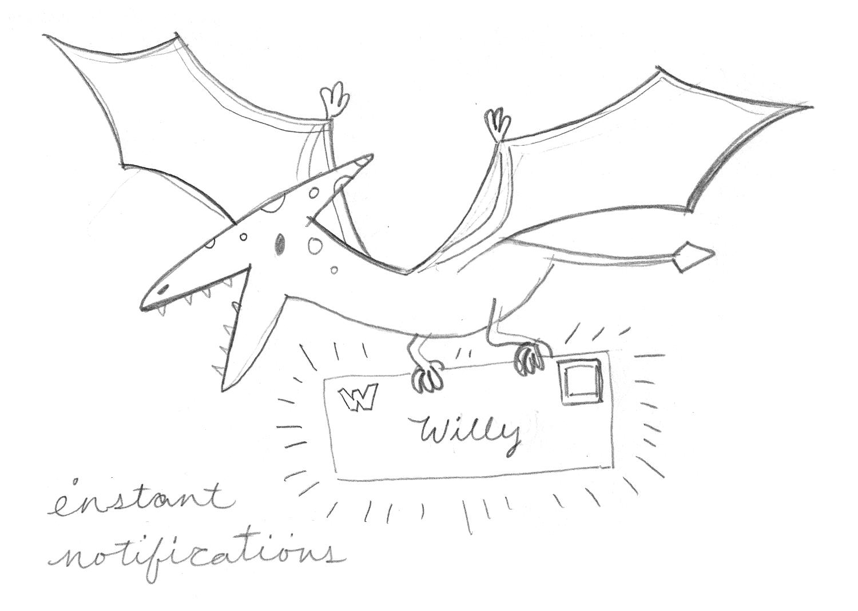 Instant Notifications Sketch