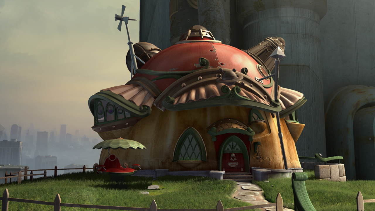 Geppetto's House