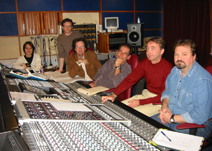 At the console of Studio 22