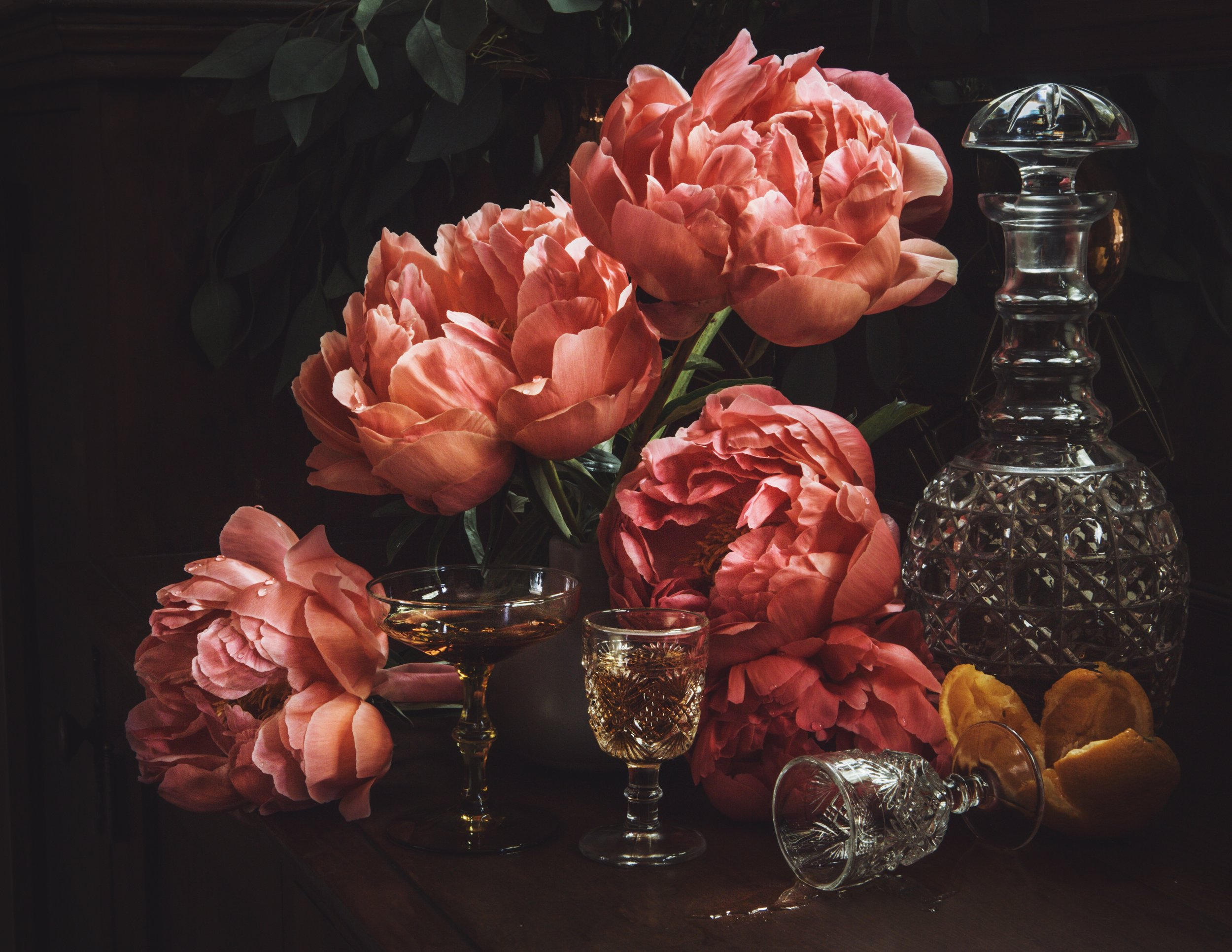 STILL LIFE WITH PEONIES |  2019
