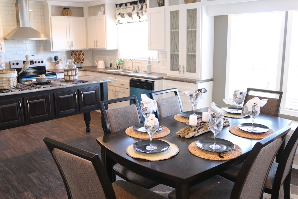 The Kitchen in the Bristol by SE Homes of Texas, styled by Lifestylist® Suzanne Felber