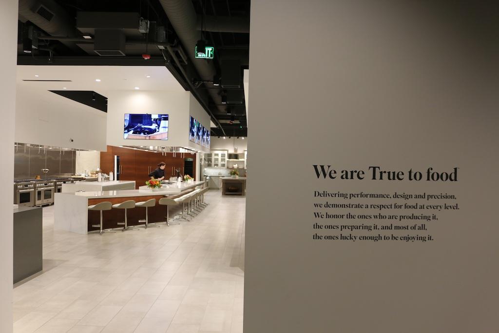 A glimpse into the Signature Kitchen Suite Experience and Design Center in Napa, CA