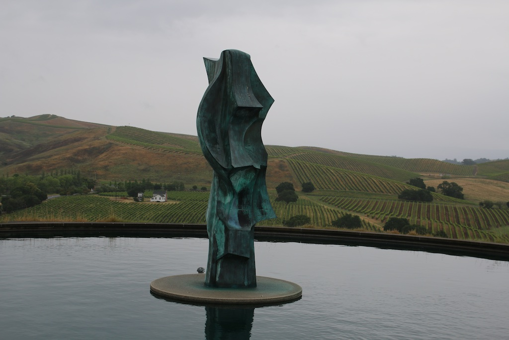 The views were as stunning as the wines at the Artesa Estate Vineyards and Winery