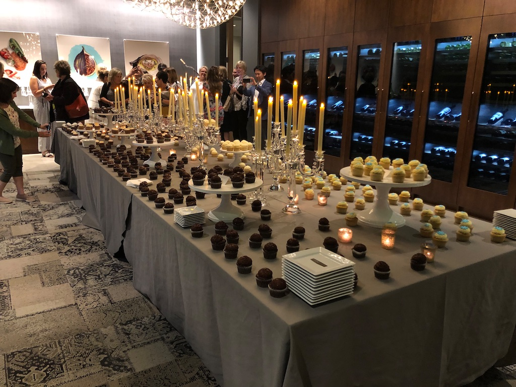 The ultimate in decadence -the Modenus Cupcakes and Champagne tradition comes to Napa
