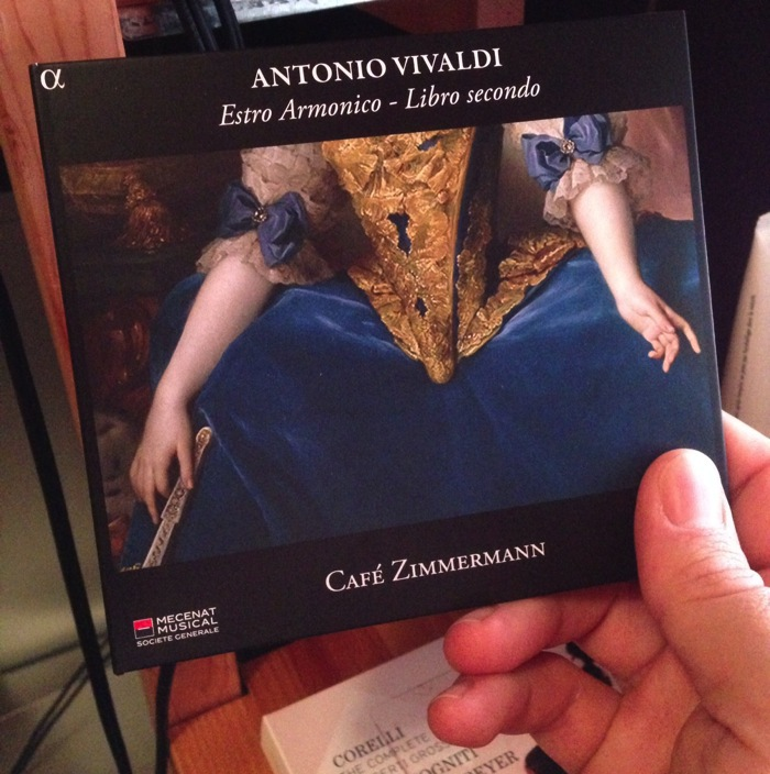 Café Zimmermann switch to Vivaldi in their latest release