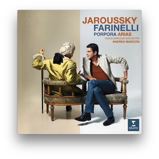 2012 recording by Philippe Jaroussky with Venice Baroque for Erato Disques