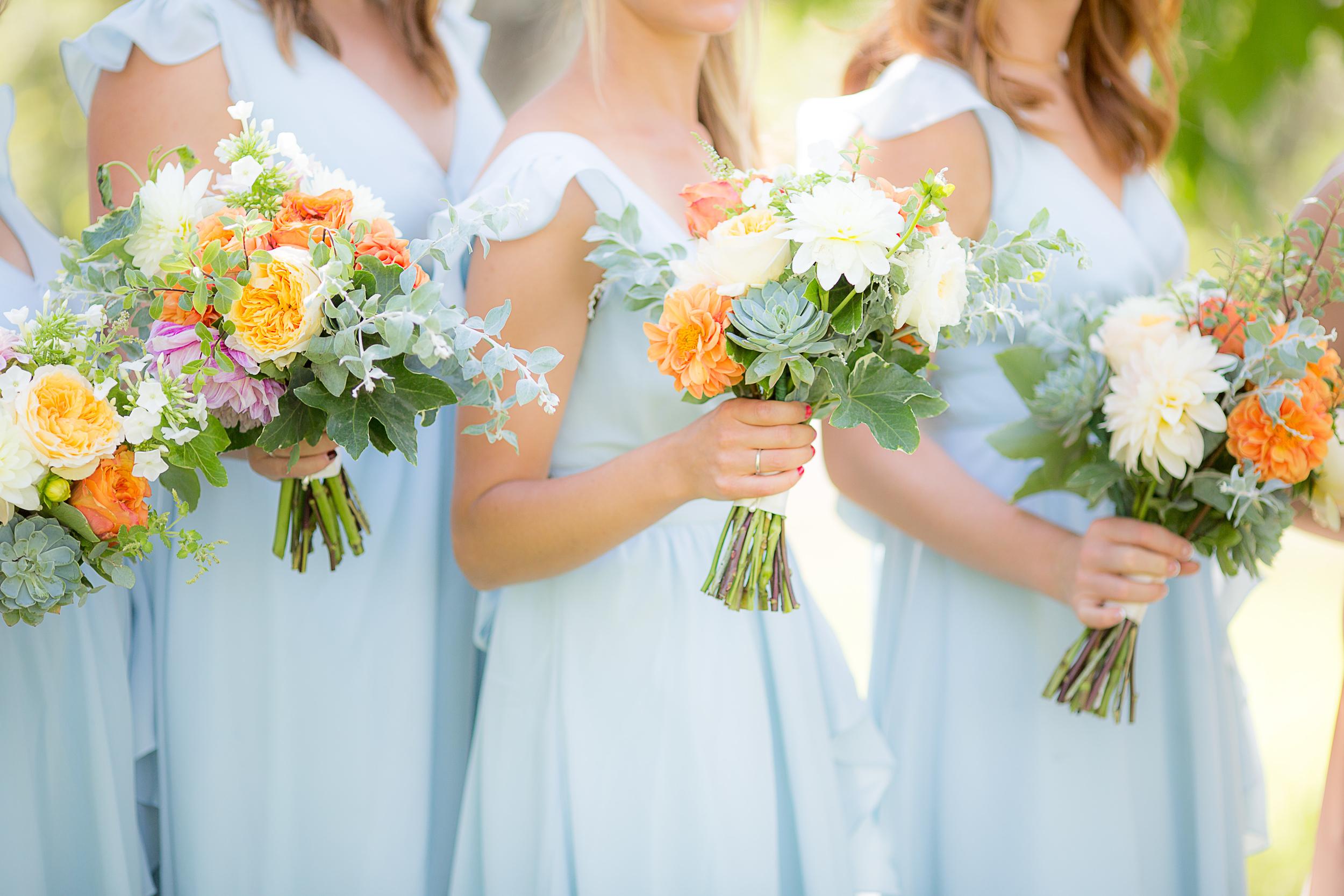 Bridal Bouquets, Wedding Floral Arrangement   www.cloveandkin.com