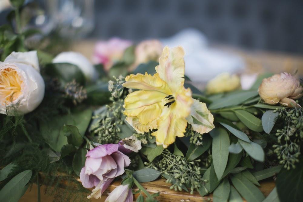 Wedding Flower Centerpiece   www.emblem-flowers.com   www.aaronyoungphotography.com