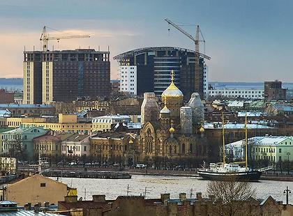 Levende Stad verzet zich tegen nieuwbouw die het aangezicht van Sint-Petersburg onherstelbaar beschadigt