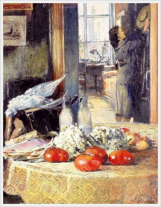 Joe. Pimenov - Ochtendboodschappen (1957)