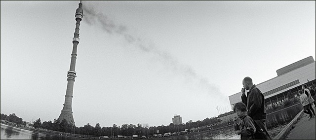 Brand in de Ostankino TV-toren, 2000