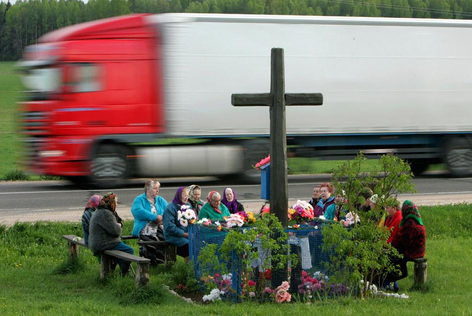 Bastoeny, 200 km van Minsk, 2008