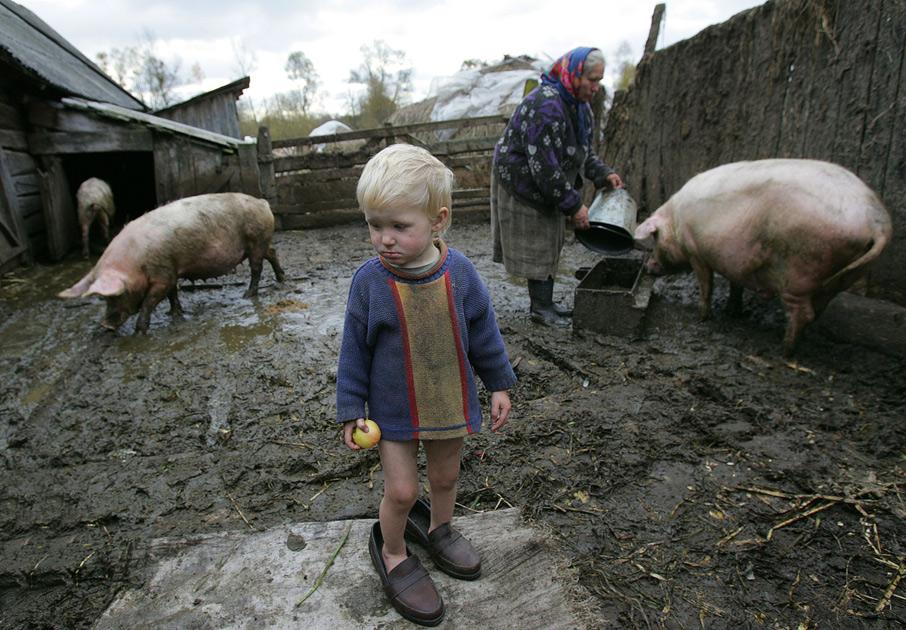Timkovitsji, 180 km van Minsk, 2006