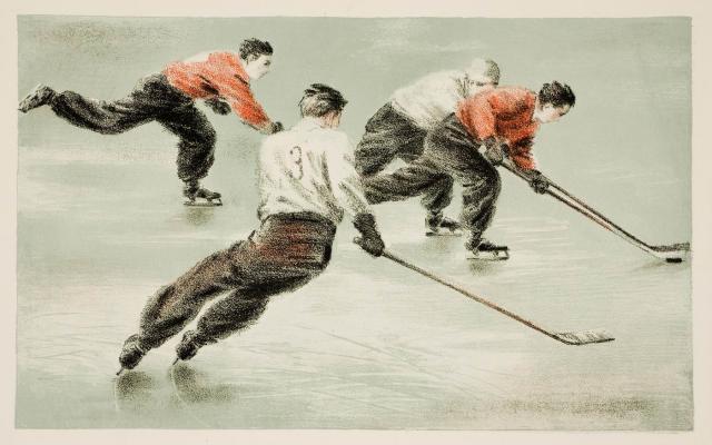 N. Kogooet - Hockey (eind jaren veertig)