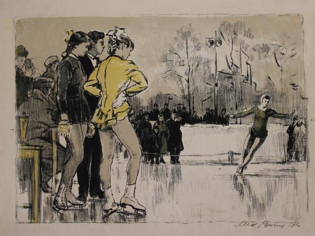 M. Rojter - Kunstrijdsters (1961) (5)