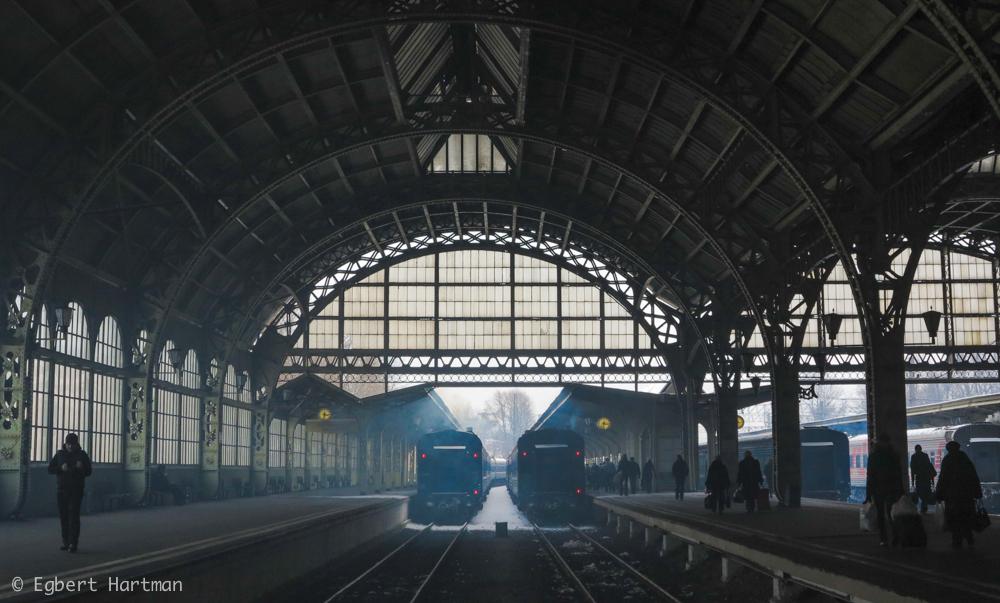 trein station Kiev Sint-Petersburg Vitebski