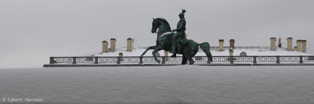 tsaar Nicolaas I standbeeld ruiterstandbeeld Sint-Petersburg