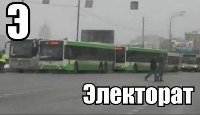 verkiezingen Rusland bussen stemmen