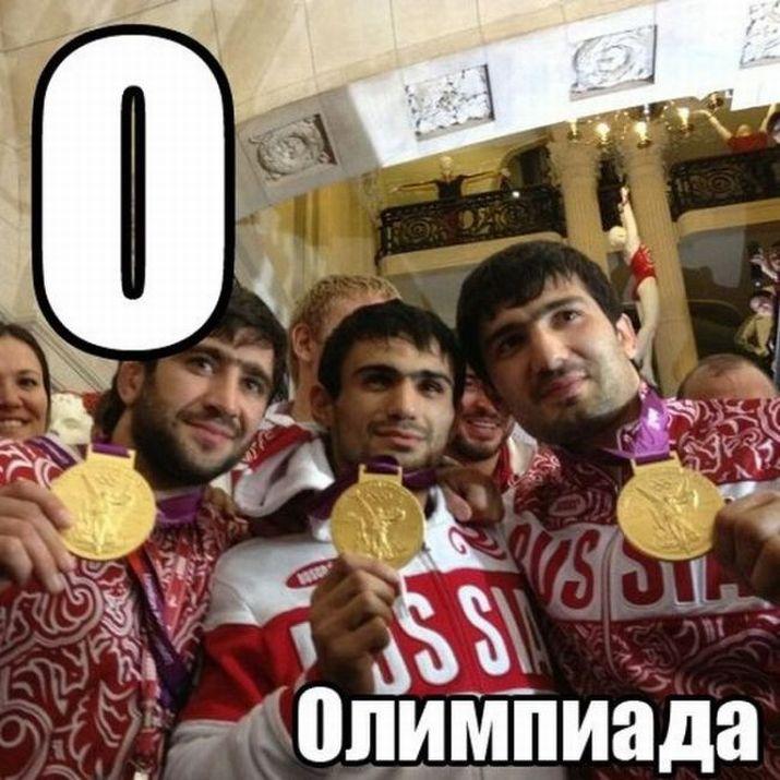 Olympische Spelen gouden medaille Rusland Londen